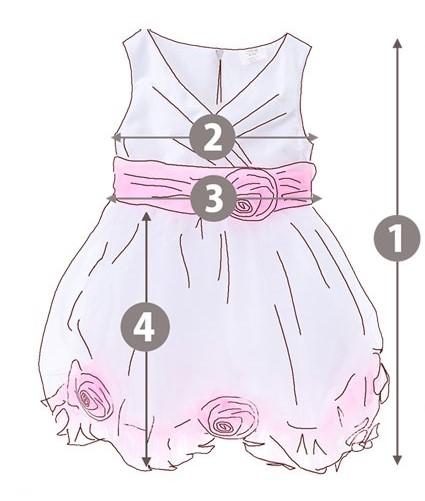 Flowergirl Size Chart